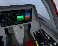 fighter jet interface mockup